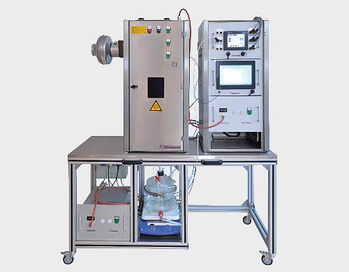 Side-loop photoreactor lab-size